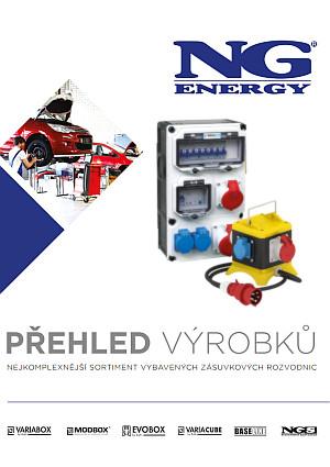 Přehled výrobků NG ENERGY