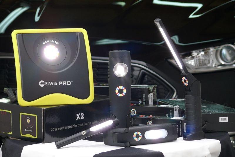 LED inspekční svítilny a montážní reflektory ELWIS PRO