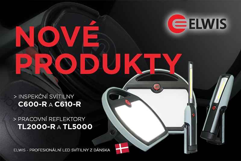 Nové svítilny a reflektory ELWIS - vyšší výkon s příznivou cenou