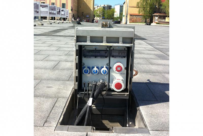 Podzemní distribuční systémy elektrické energie